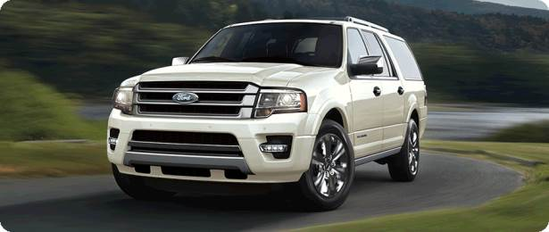 Completa dimensioni SUV - Ford Expedition EL